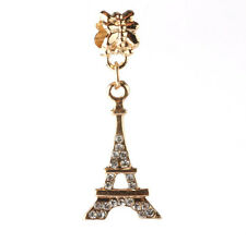 2pc18K gilded Transmission tower fit European Charm Bracelet pendant Chain #B120