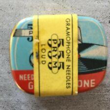 "Grammophon-Nadeldose ""PRYM"", 555 Loud, originalverpackt, mit Banderole"