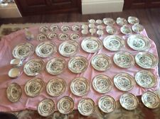 Lord Nelson Pottery England Dinner Service; 50 Pieces; Vintage; Indian Tree