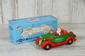 Liberty Classics 1/25 Scale JC Whitney 1937 Chevrolet Coin Bank w/ Santa Claus