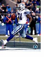 Julius Jones Dallas Cowboys Authentic Signed 8x10 Photo LOM COA (PH223)