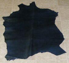 (ZXE8310-3) Hide of Navy Blue Lambskin Leather Hide Skin