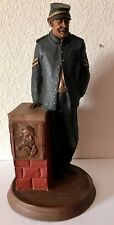 """Tom Clarke and Tim Wolfe 14"""" Tall Union Soldier Cairn Signed by Clarke Statue"""