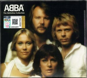 ABBA The Definitive Collection 2001 MALAYSIA DELUXE 2 CD + SLIPCASE RARE AM POP