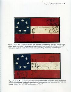 """""""NEW"""" CONFEDERATE PATRIOTIC STATIONERY by James W. Milgram, M.D."""