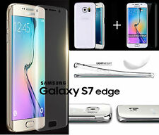 360° Full Body Protect Curved Screen Protector & TPU Case Samsung Galaxy S7 Edge