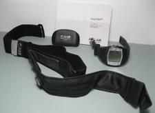 Black POLAR FT40 Ladies HEART RATE MONITOR WATCH & CHEST STRAP Exercise Training