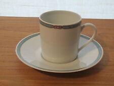 Medard de Noblat *NEW* Trévisse Vert 1 Tasse à café 15cl + soucoupe Cup Trevisse