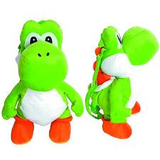 Super Mario Bros Brothers Yoshi Plush Backpack Stuffed Figure Toy Kids Boys Gift