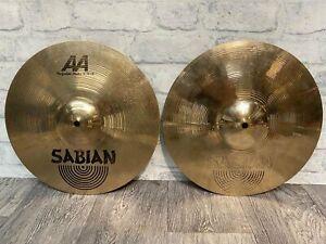 """Sabian AA Regular Hats 14""""/36cm Hi Hat Cymbals (Pair) Drum Accessory"""