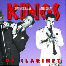 "BENNY GOODMAN / ARTIE SHAW ""Kings of Clarinet"" New Sealed CD * 23 CLASSIC TRACKS"