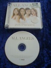 CD.ALL ANGELS.INTO PARADISE.FEMALE VOCALS.14 TRACKS.CLASSICAL.SOUND OF SILENCE