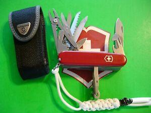 NTSA SWISS ARMY VICTORINOX MULTIFUNCTION POCKET KNIFE HANDYMAN WITH NYLON CASE