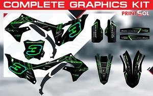 Kawasaki KX250F KXF250 2016 - 2021 KXF450 KX450F 2016 - 2021 graphics kit