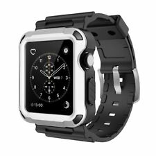 Simpeak Sports Band for 42mm Apple Watch iWatch Strap w/ Rugged Protective Case