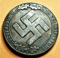 WW2 '39 GERMANY COMMEMORATIVE COLLECTORS COIN REICHSMARK