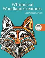 Whimsical Woodland Creatures: Coloring for Artists (Creative Stress Relieving Ad