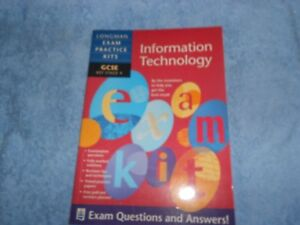 GCSE - INFORMATION TECHNOLOGY - LONGMAN - EXAM QUESTIONS AND ANSWERS