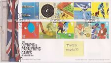 TALLENTS PMK GB ROYAL MAIL FDC 2010 OLYMPIC & PARALYMPIC GAMES STAMP SET