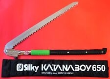 "Japanese SILKY KATANABOY huge folding hand saw 650mm scie 1470mm 58"" bois 403-65"