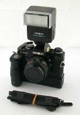MINOLTA X-500 classic 35mm SLR + MD-1 Motor 1,7/50 280PX Starterkit analog /19