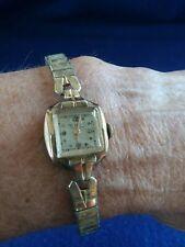 Gruen Watche Ladies 1947 Veri-Thin 10K GF