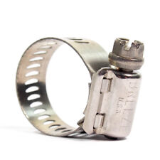 """1/2"""" to 1-1/4"""" Dia. Stainless Steel Hose Clamp 10/Box Free Shipping IDEAL 6712-1"""