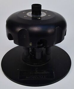 Sorvall AH-650 Ultra Centrifuge Rotor 50,000RPM With 6 39.5G Tubes & Stand
