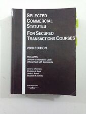 Selected Commercial Statutes for Secured Transactions Courses (Paperback, 2008)