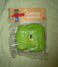 Wendy's*Camp Wannago Nature Notepack*Kids Meal Toy
