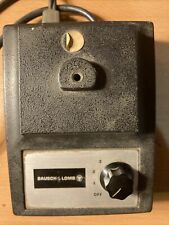 Bausch & Lomb Cat No. 31-35-36 Transformer With Lamp Illuminator. Not Tested.