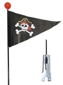 Fahrradwimpel Pirat Sicherheitswimpel Fahrrad Fahne Flagge Fähnchen Wimpel
