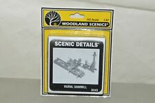HO scale Woodland Scenics Scenic Details D243 Rural Sawmill kit