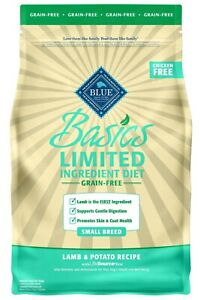 Blue Basics Limited Ingredient Diet Lamb & Potato Recipe Adult Dry Food, 22 lbs