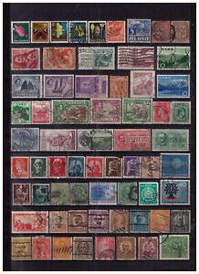 A Worldwide lot#358 New Zealand Nigeria Jamaica Italy Asia classic vintage &more