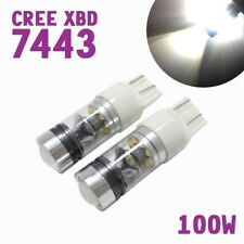 Parking Light White XBD 7443 W21W CREE LED Daytime Running Bulb For Jeep Ram