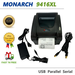 Avery Dennison Monarch 9416XL POS Compact Label Printer USB with AC Adapter