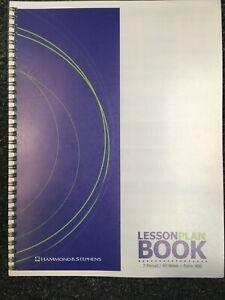 Hammond & Stephens Lesson Plan Book   7 Period / Subject, 40 Weeks