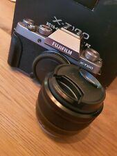 Fujifilm X-T100 24MP Mirrorless Digital Camera with XC 15-45 mm Lens Dark Silver