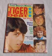 November 1968 Tiger Beat Teen Magazine Monkees Davy Jones Sajid Bobby Sherman
