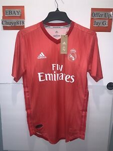 New Adidas Parley Real Madrid Third Authentic Soccer Jersey Mens Sz:M MSRP:$130