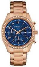 Relojes de pulsera Chrono de oro rosa de mujer