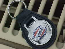 WILLYS OVERLAND TOLEDO STARBURST LEATHER KEY FOB MINT A TOP QUALITY PRODUCT