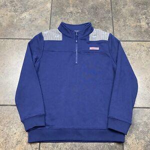 Boy's/Kid's Vineyard Vines 1/4 Zip Pullover Sweatshirt Size Medium(10-12)