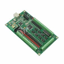 4 Axis CNC USB Card Mach3 Mach 200KHz Breakout Board Interface Support Win 7