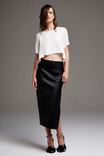 Maurie & and Eve Gravity Skirt in Slate Size 10 BNWT