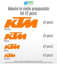 Adesivi KTM Casco Moto Decal Sponsor Stickers Duke Superduke Adventure