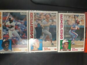 1984 O-PEE-Chee RACK-PACK un opened Raines Murray Oester Morgan Hassey Zahn RARE
