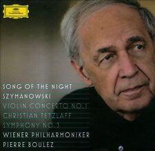 Szymanowski: Symphony No. 3, 'Song of the Night' / Violin Concerto No. 1