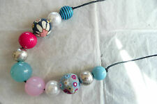 Beads In Lovely Colours_All Different Long Accessorize Necklace – Very Unusual